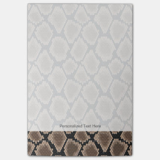 Snake skin post-it notes