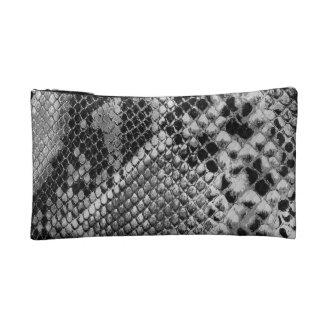 Snake Skin print 2 Makeup Bag