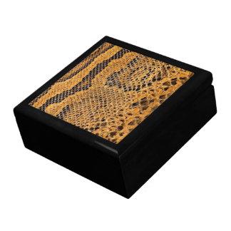 Snake Skin Print Jewerly Box Gift Box