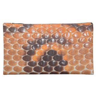 Snake Skin print Makeup Bag