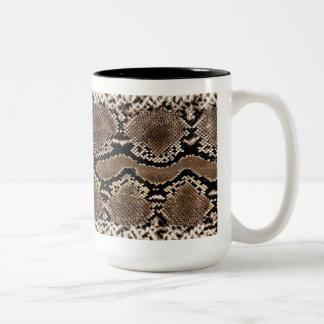 Snake Skin Print Mug