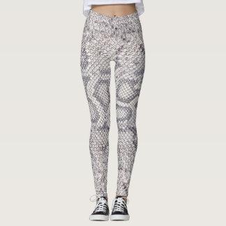 Snake Skin Printed Feminine Sport Gym Leggings