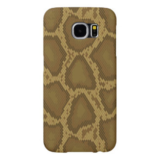 Snake skin, reptile pattern samsung galaxy s6 cases