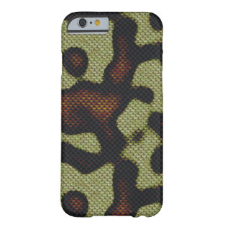 Snake-skin Scales Camouflage Nature Pattern Barely There iPhone 6 Case
