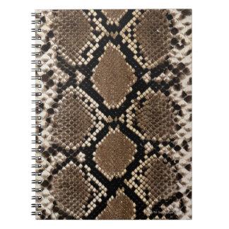 Snake Skin Spiral Notebooks