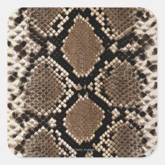 Snake Skin Square Sticker