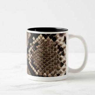 Snake Skin Two-Tone Coffee Mug