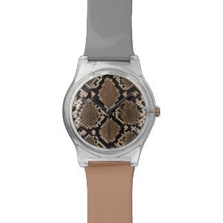 Snake Skin Watches