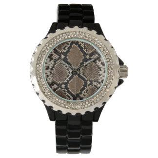 Snake Skin Wristwatch