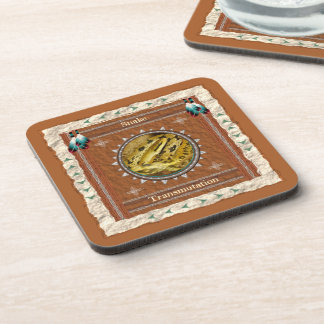 Snake  -Transmutation- Cork Coaster Set of 6