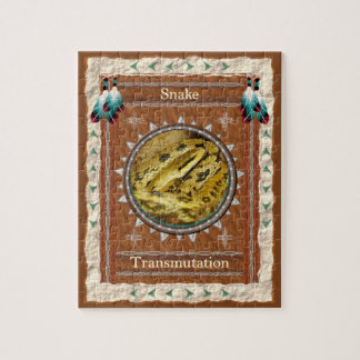 Snake  -Transmutation- Jigsaw Puzzle w/ Box