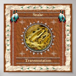 Snake  -Transmutation- Poster Print