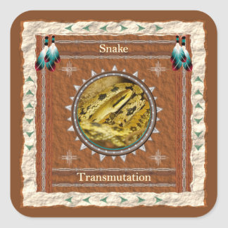 Snake  -Transmutation- Stickers - 20 per sheet