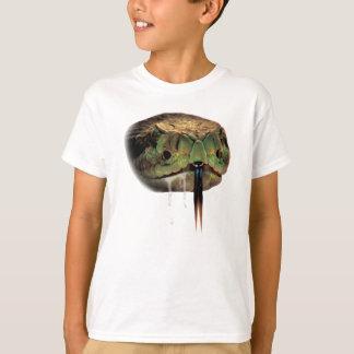 Snake Venom Bite Face T-Shirt