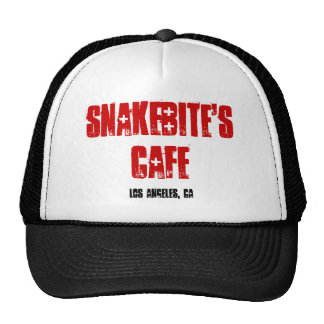 SNAKEBITE'S CAFE TRUCKER HATS