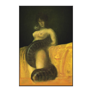 SnakeGrl Stretched Canvas Wall Art 24x36 Gallery Wrapped Canvas