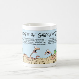 Snakes in the Garden of Eden Classic White Coffee Mug