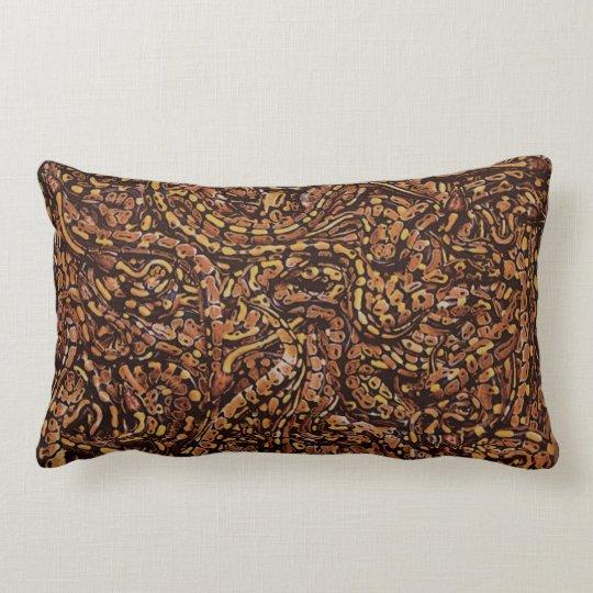 Snakes Lumbar Pillow