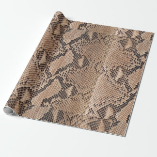 Snakeskin Animal Print Wrapping Paper