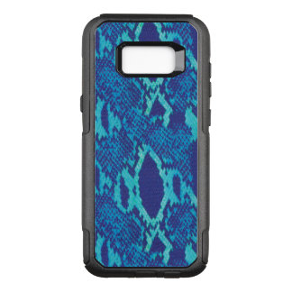 Snakeskin in Blue OtterBox Commuter Samsung Galaxy S8+ Case