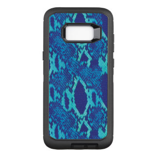 Snakeskin in Blue OtterBox Defender Samsung Galaxy S8+ Case