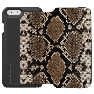 """""""SNAKESKIN"""" iPHONE 6 WALLET CASE Incipio Watson™ iPhone 6 Wallet Case"""
