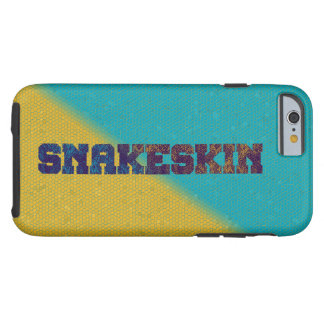 'SNAKESKIN' Scaled Print Tough iPhone 6 Case