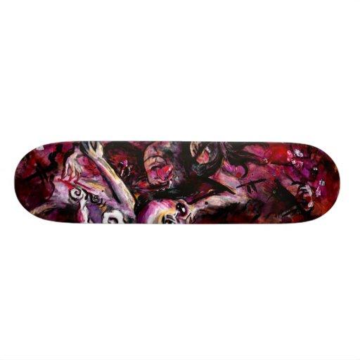 Snap Back Custom Skateboard