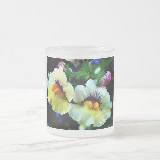 Snap Dragons 10 Oz Frosted Glass Coffee Mug