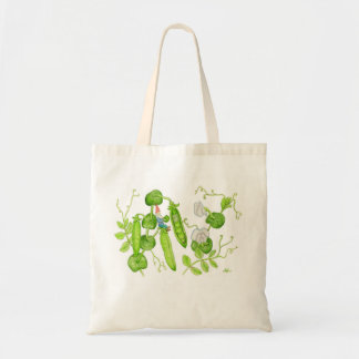 Snap Pea Gnome bag