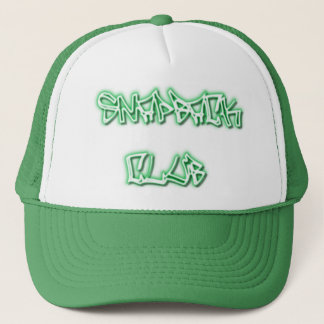 SNAPBACK CLUB hat-Flat Bill Trucker Hat