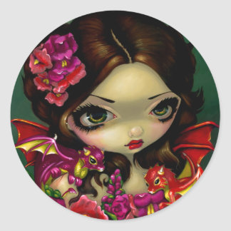 Snapdragon Fairy Sticker