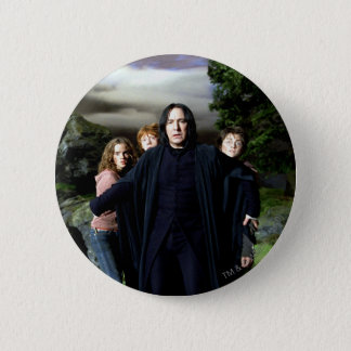 Snape Hermoine Ron Harry 2 Inch Round Button