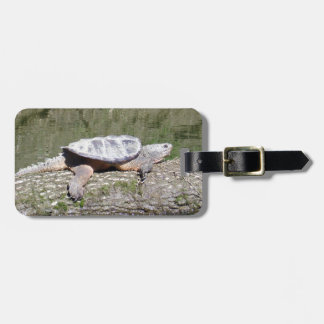 Snapping Turtle Luggage Tag