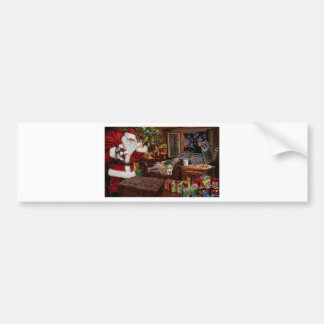 Snappy Santa Bumper Sticker