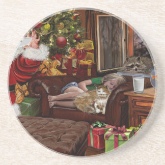 Snappy Santa Coaster