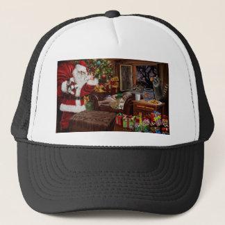Snappy Santa Trucker Hat
