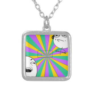 snapshot 2 Vic Inc Silver Plated Necklace
