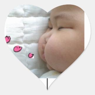 snapshot Baby Vic Inc. Heart Sticker