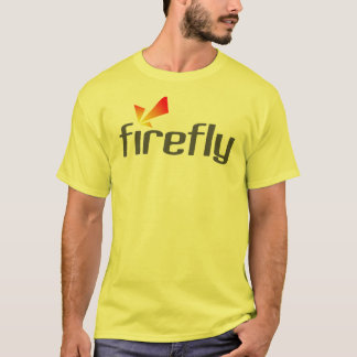 SnapStream Media Firefly Yellow Shirt