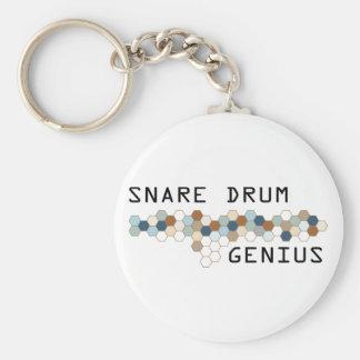 Snare Drum Genius Keychain
