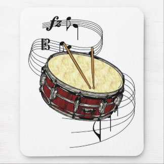 Snare Drum Mouse Pad