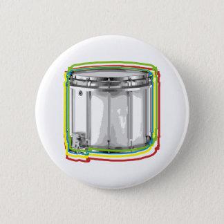 Snare Neon 2 Inch Round Button