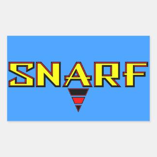 Snarf Sticker