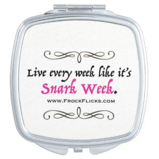Snark Week - Compact Mirror