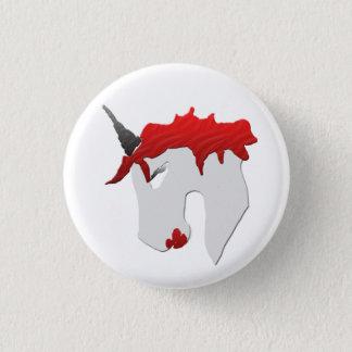 Snarkley Street Unicorn 1 Inch Round Button