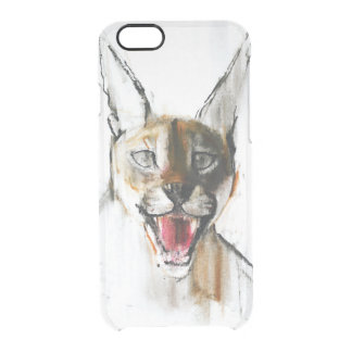 Snarl Clear iPhone 6/6S Case