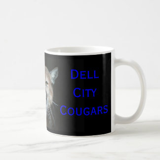 Snarling Cougar, CAVE FELEM, Dell ... - Customized Classic White Coffee Mug