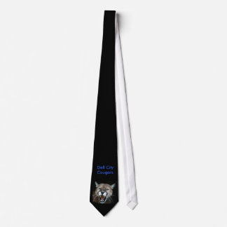 Snarling Cougar - Customized Tie