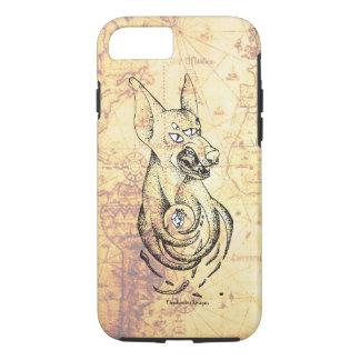 Snarling Doberman Demon iPhone 8/7 Case